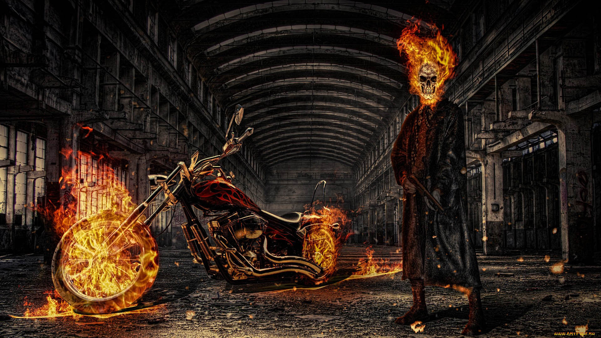 گوست رایدر - مارول کامیکس - جانی بلیز - ghost rider - marvel comics - johnny blaze