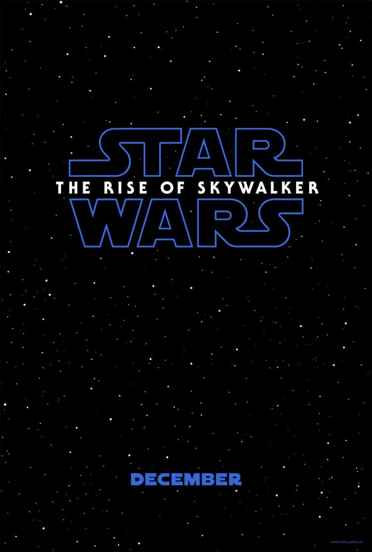 پوستر فیلم Star Wars: The Rise of Skywalker