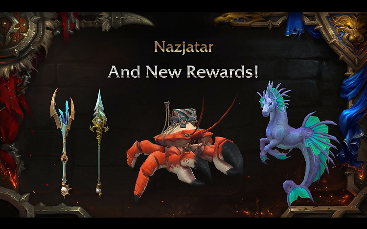 world of warcraft nazjatar rewards