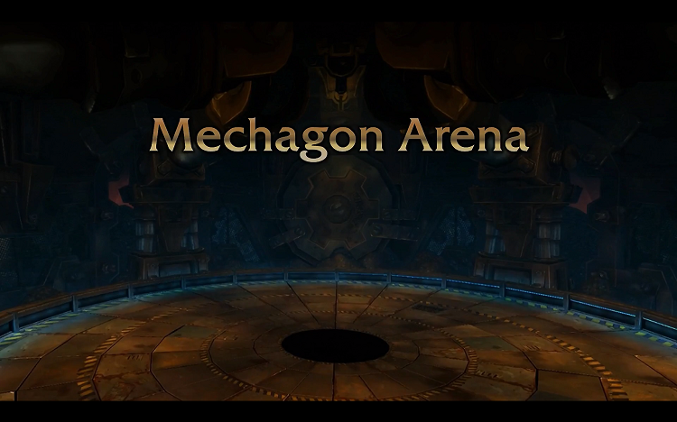Mechagon arena world of warcraft