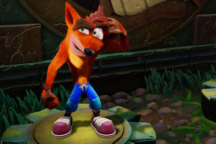 ریمیک Crash Bandicoot در بازی Dreams ساخته شد