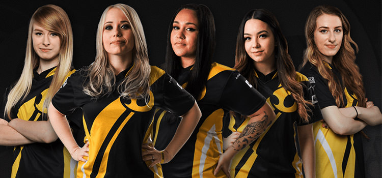 CS csgo women team dignitas