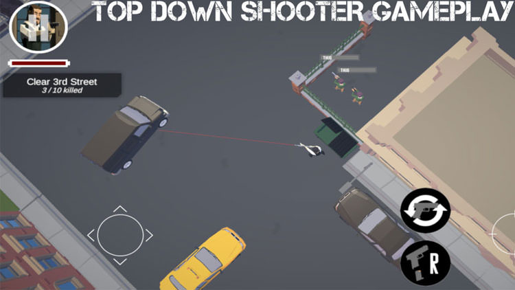 John On Fire: Top Down Shooter