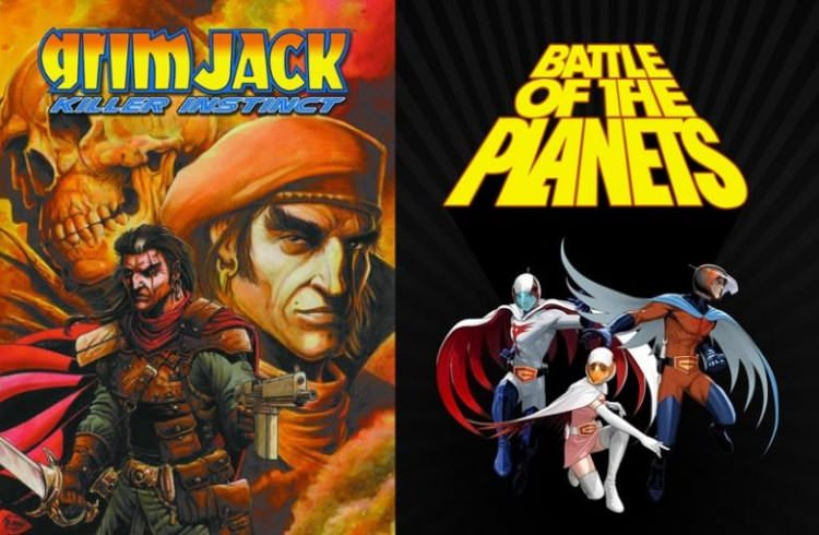 Grimjack و Battle of the Planets