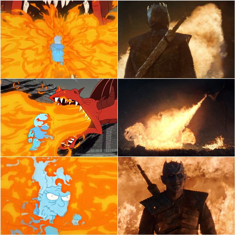 The Simpsons vs Game of Thrones