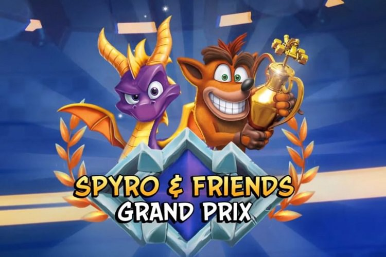 کاراکتر Spyro به بازی Crash Team Racing: Nitro Fueled می‌آید