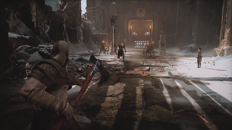 Leviathan Axe in God of War