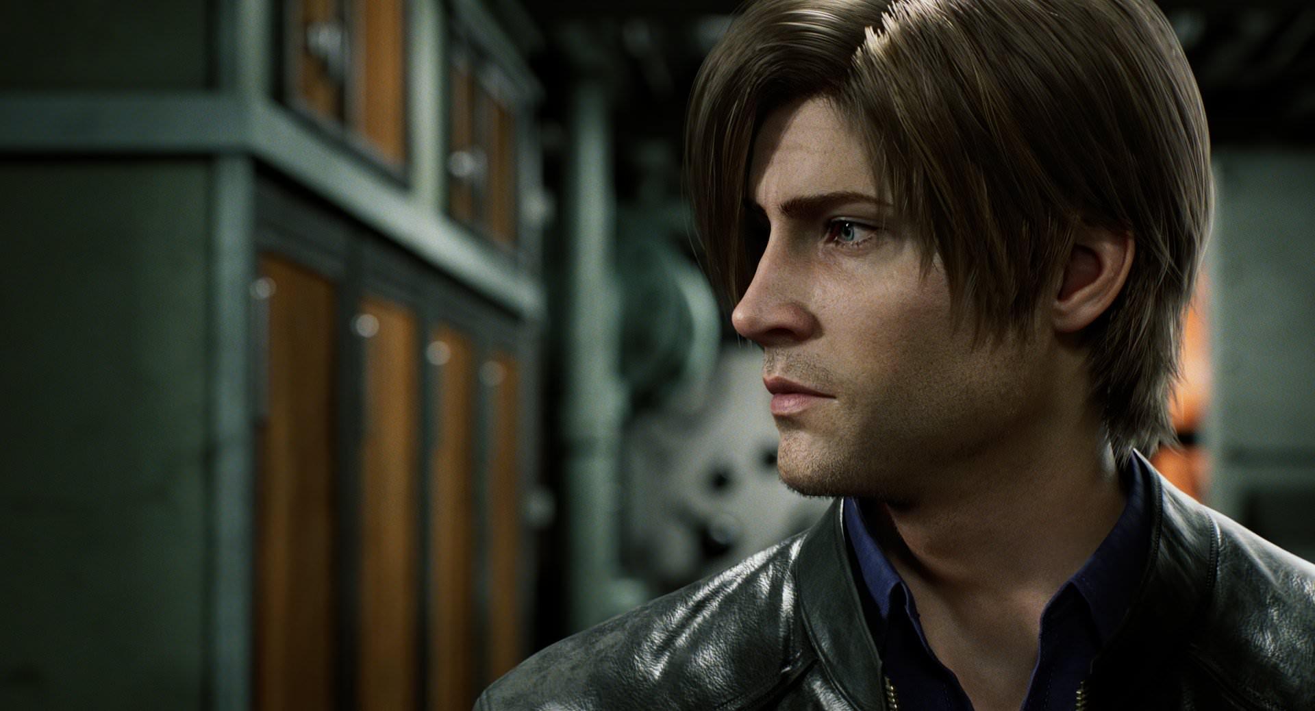 لئون اس کندی در سریال انیمیشنی Resident Evil: Infinite Darkness