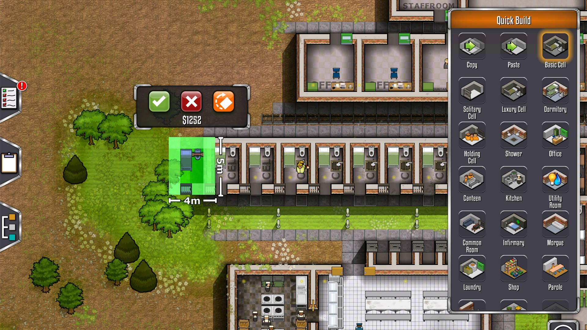 بازی اندروید Prison Architect: Mobile