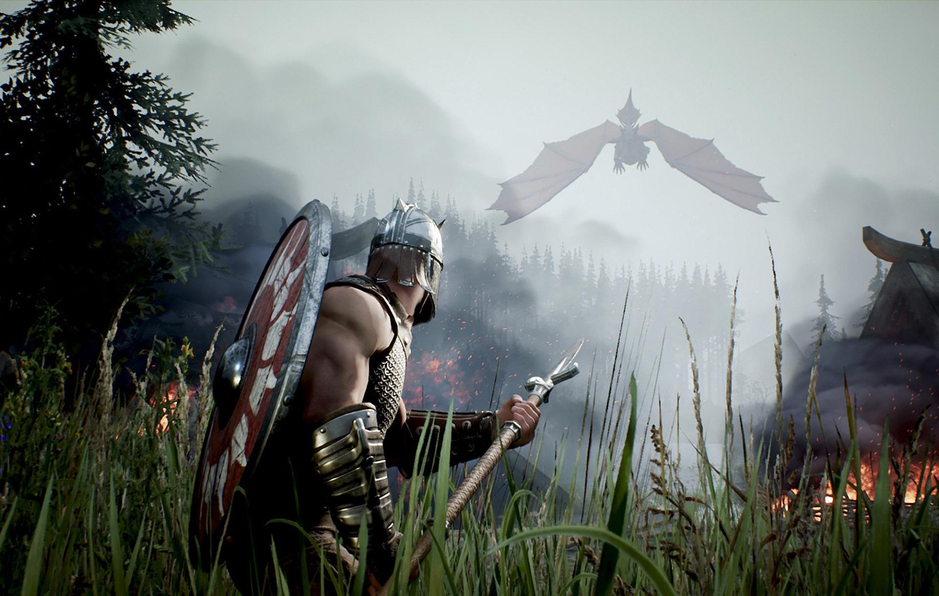 تصویری از دنیای بازی Rune 2 از استودیوی هیومن هد