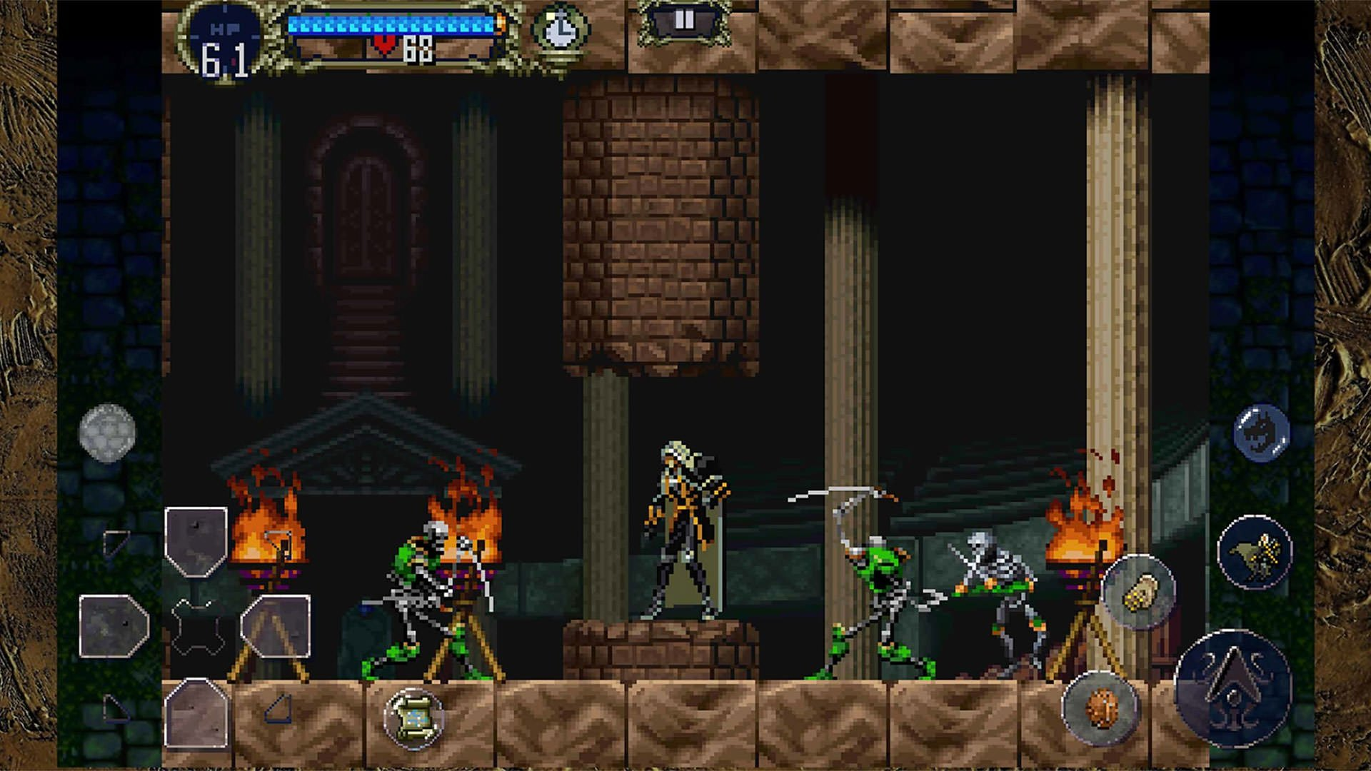 بازی اندروید Castlevania: Symphony of the Night