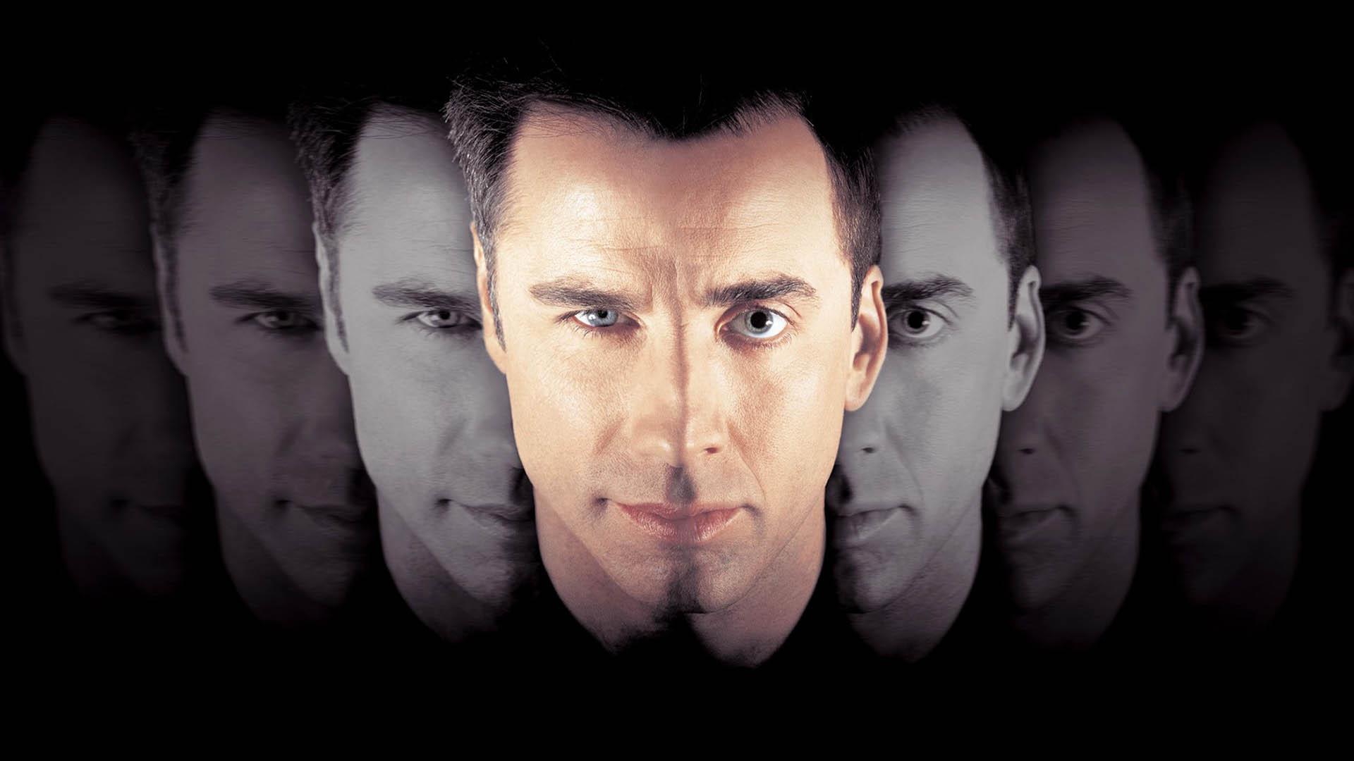 نیکولاس کیج و جان تراولتا در پوستر فیلم face off