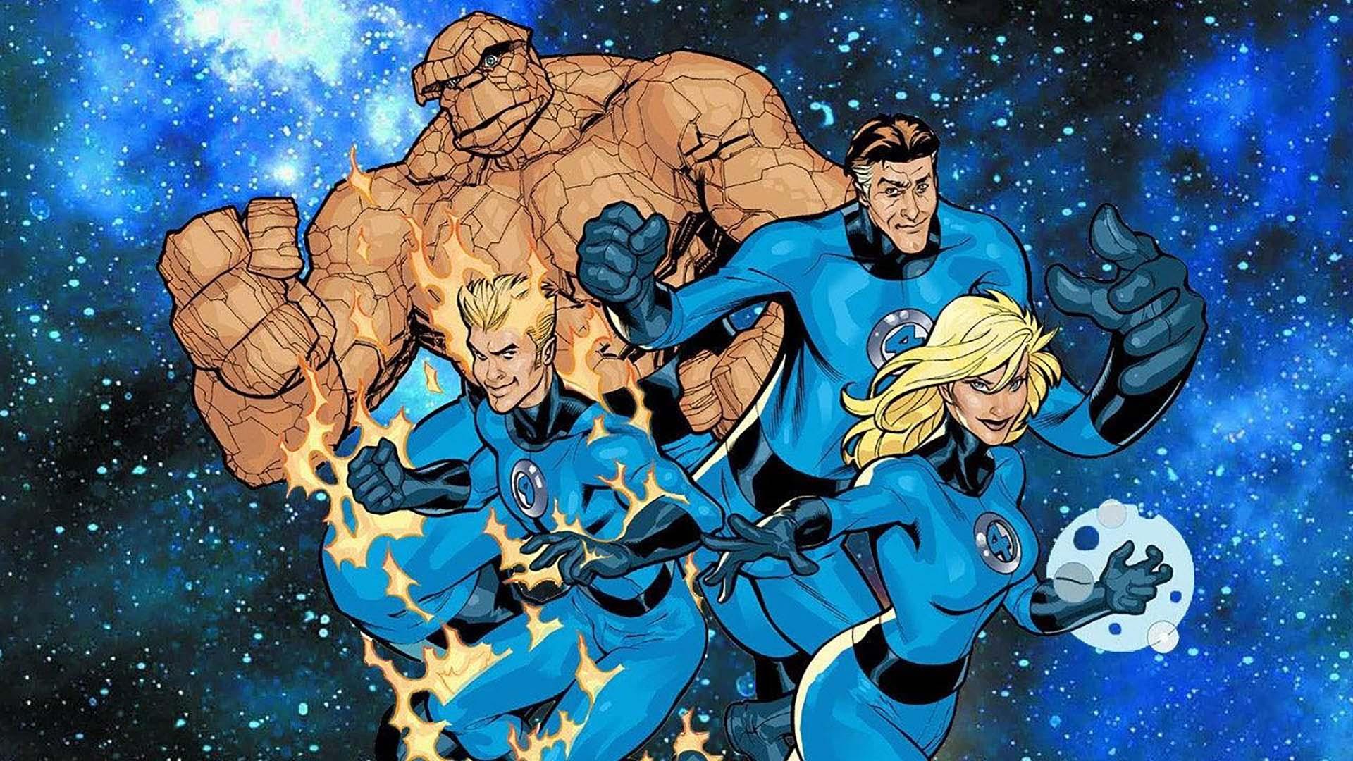 اعضای تیم چهار شگفتانگیز در فضا