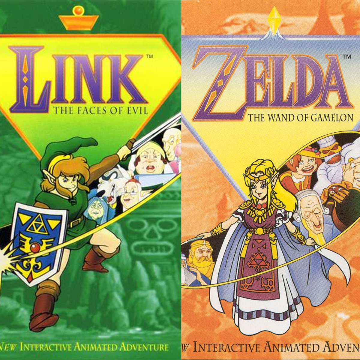 Zelda: The Wand of Gamelon and Link: The Faces of Evil