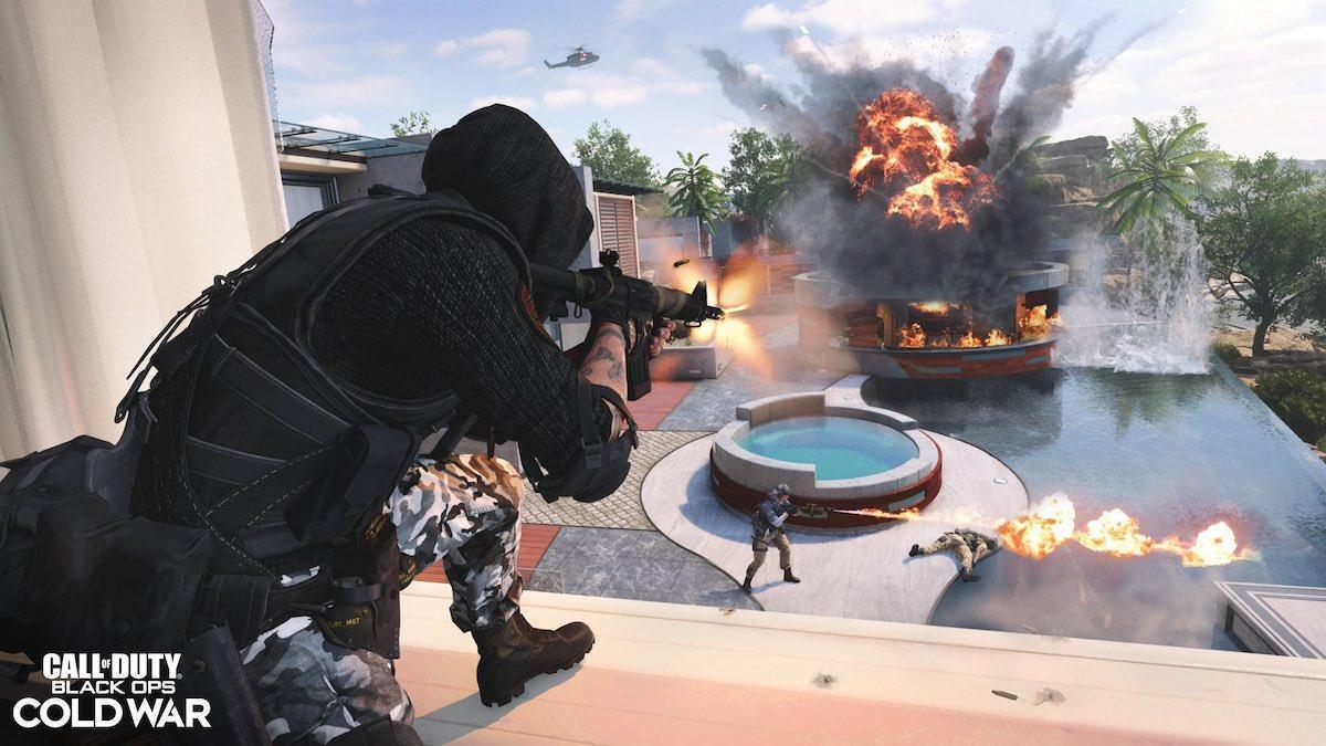 تصویر فاش شده از آتش افکن در بازی COD: Black Ops Cold War