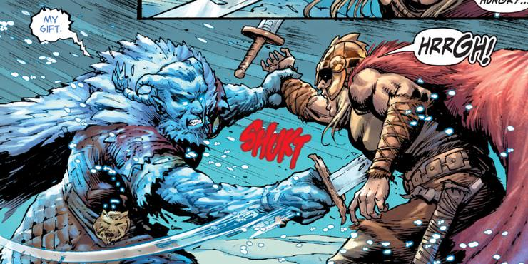 Viking Prince's character killed by Frost King