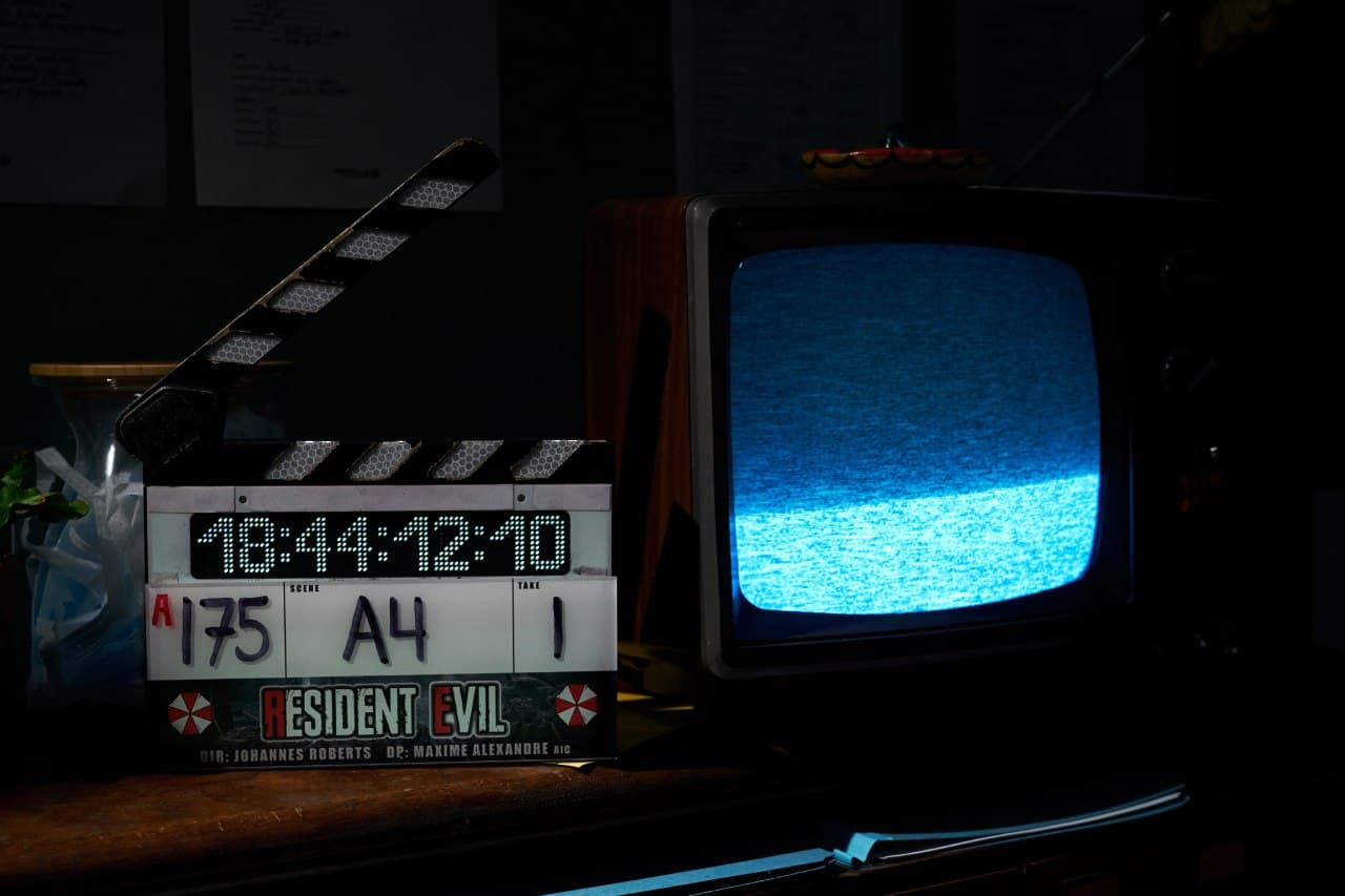 The last day of filming for the Resident Evil movie reboot