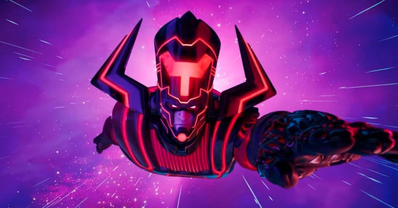 Galactus در بازی فورتنایت