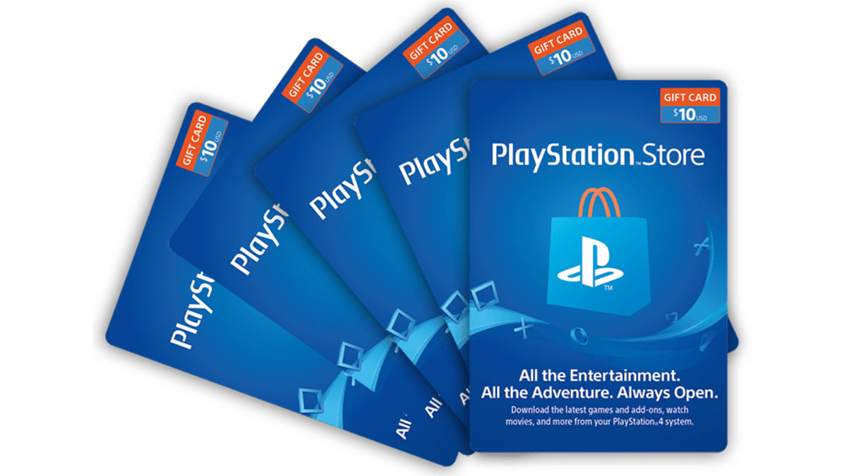 Buy a $ 10 PlayStation Network Gift Card