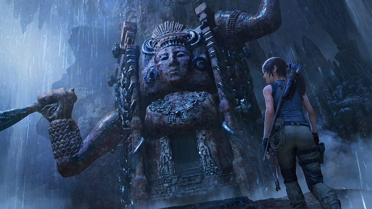 View of Shadow of the Tomb Raider