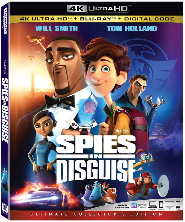 Spies in Disguise / جاسوسان نامحسوس