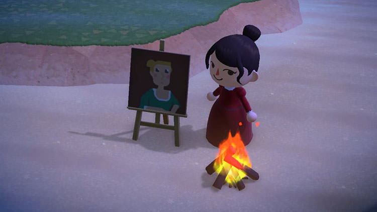 Portrait of a Lady on Fire / Animal Crossing: New Horizons
