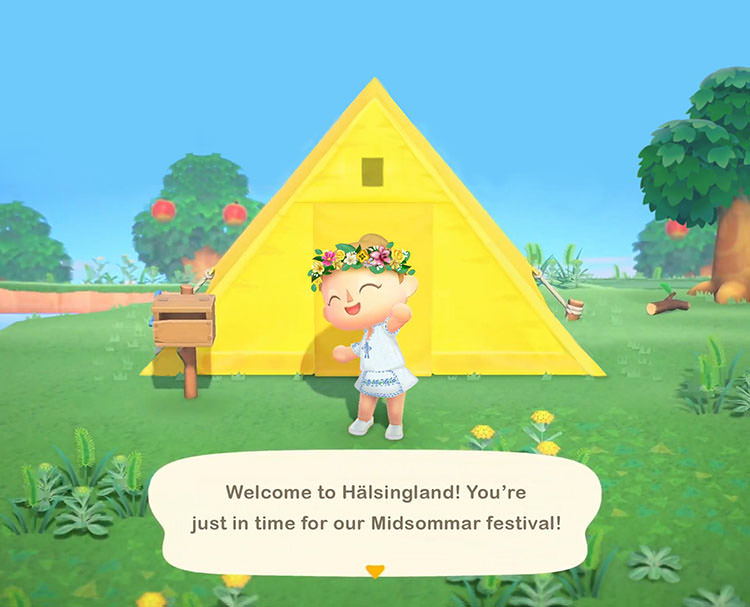 Midsommar / Animal Crossing: New Horizons