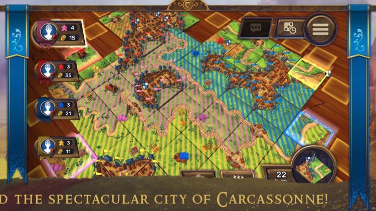 Carcassonne – Tiles and Tactics