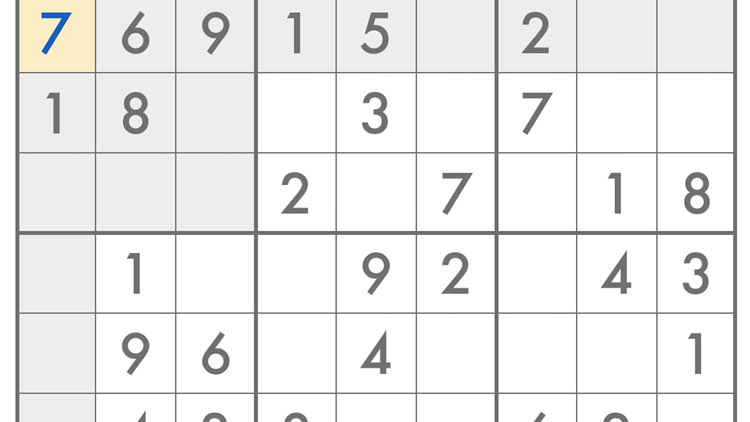 Sudoku – Classic Number Game