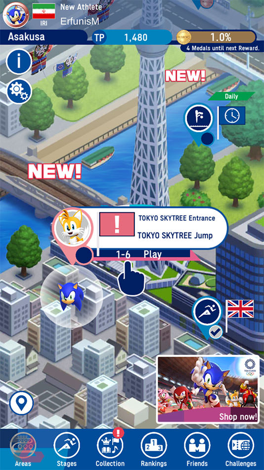 Sonic at the Olympic Games Tokyo 2020