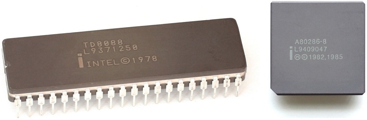 Intel 8086 and 80286 Processors