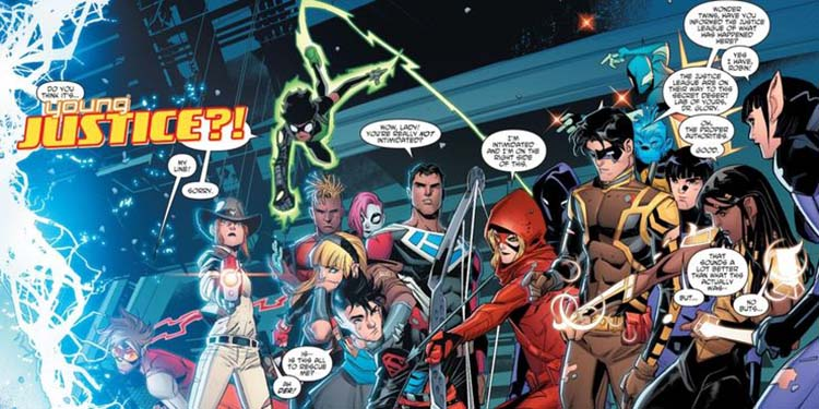 members of young justice