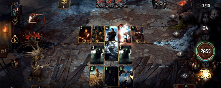 مبارزات بازی GWENT: The Witcher Card Game