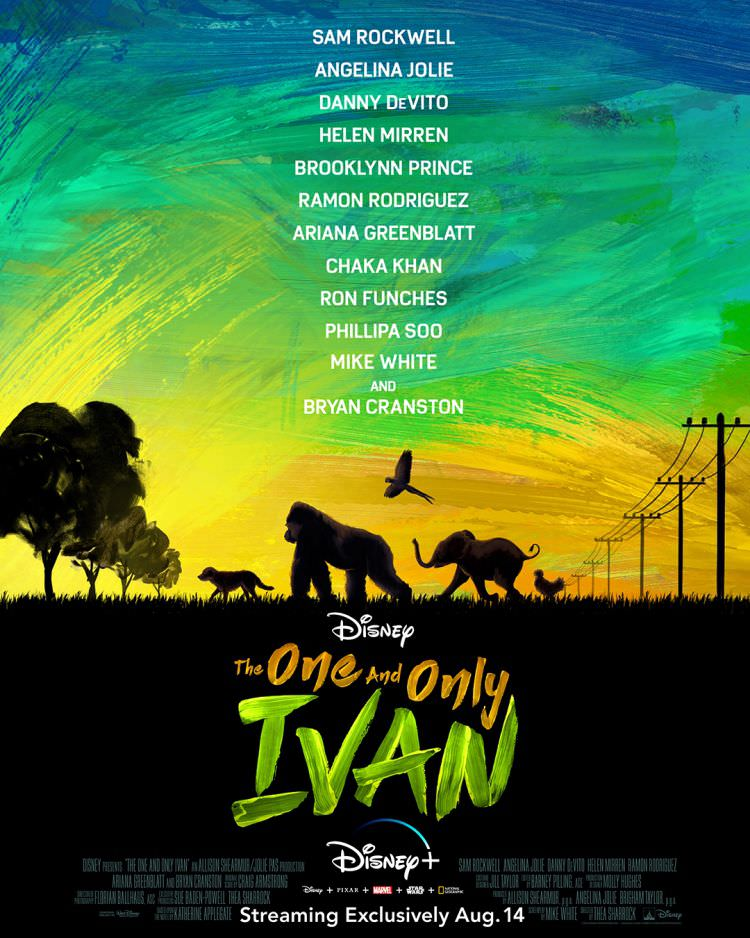 پوستر فیلم The One and Only Ivan