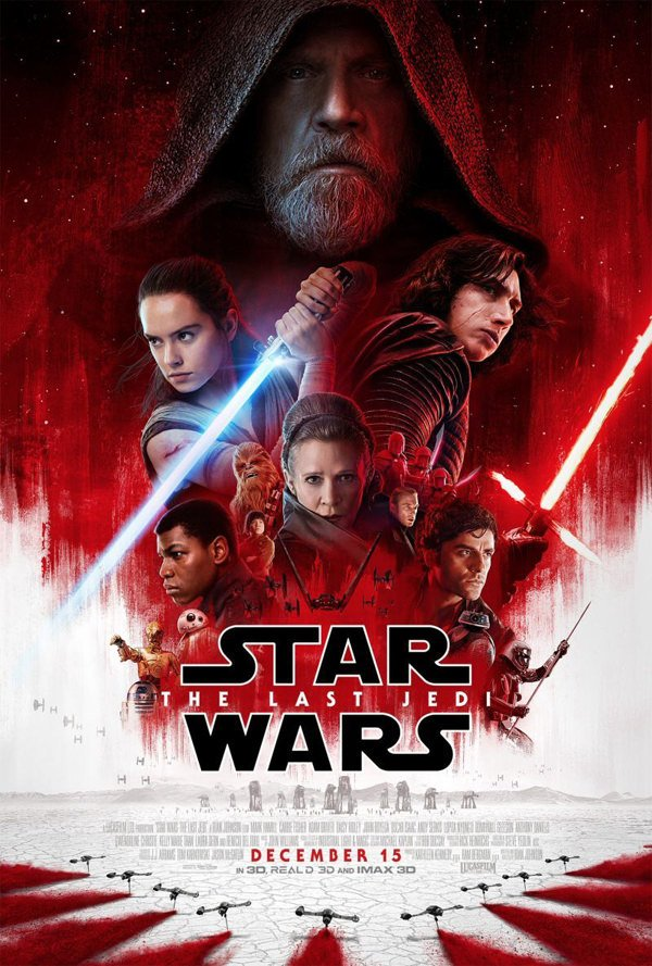 پوستر فیلم star wars force awakens