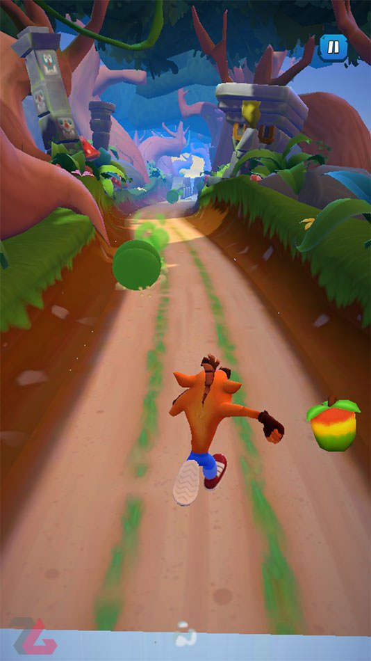 تله‌ های بازی Crash Bandicoot Mobile