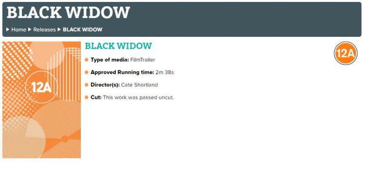 اطلاعات تریلر جدید فیلم Black Widow