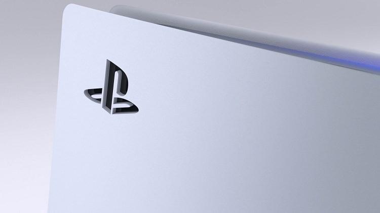 لوگوی پلی استیشن روی بدنه PS5