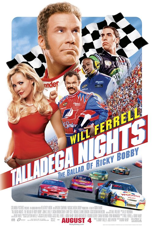 پوستر فیلم Talladega Nights: The Ballad of Ricky Bobby