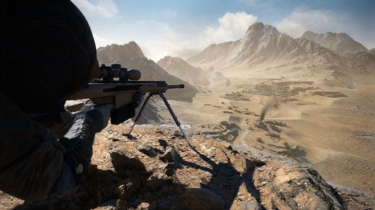 تیراندازی از فواصل بسیار دور در بازی Sniper Ghost Warrior Contracts 2