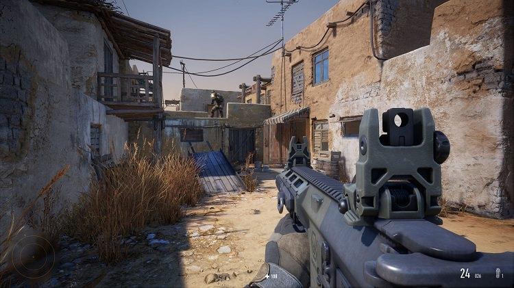 درگیری های شهری در بازی Sniper Ghost Warrior Contracts 2