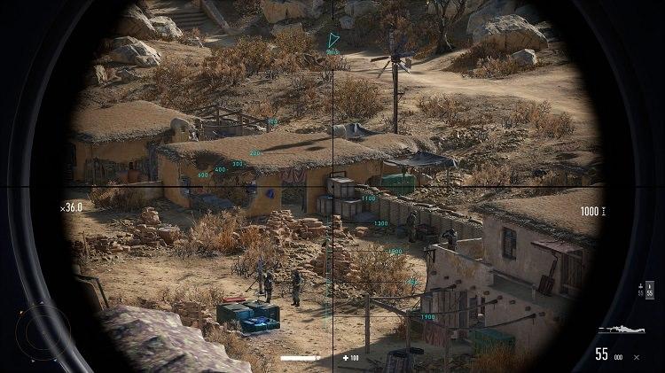 اسکوپ دوربین سلاحهای بازی Sniper Ghost Warrior Contracts 2