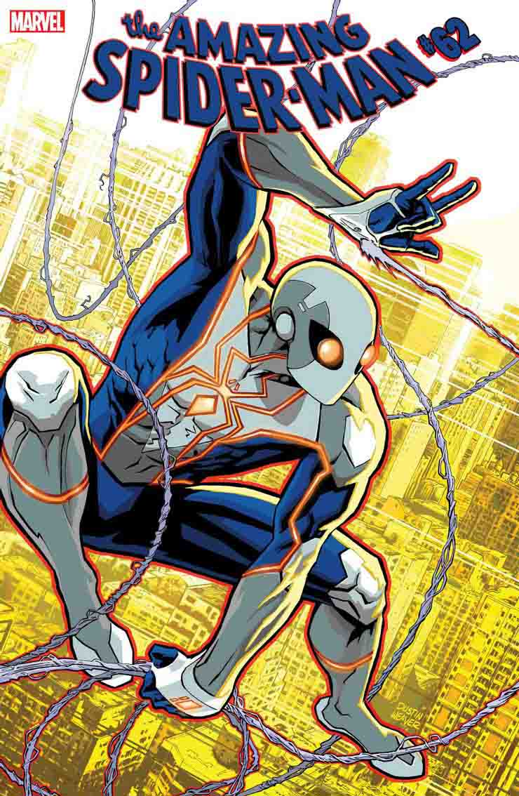 The main cover of episode 62 of the Amazing Spider-Man comic book series