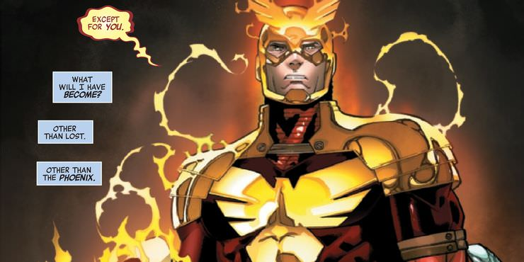Become Captain America Phoenix and receive the Phoenix Force
