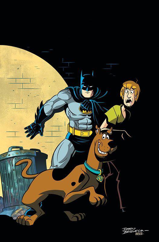 شخصیتهای اسکوبی دوو، بتمن و شگی در سری کتاب کمیک Batman & Scooby Doo Mysteries