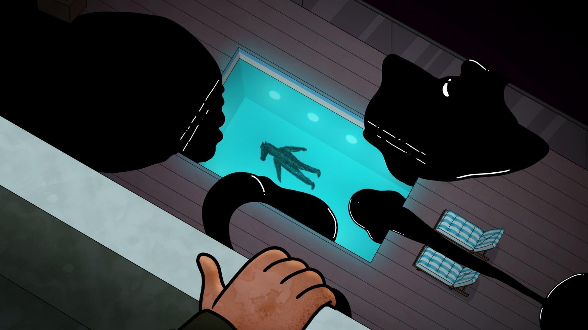 بوجک با جنازهاش در حین غرق شدن مواجه میشود  بوجک هورسمن