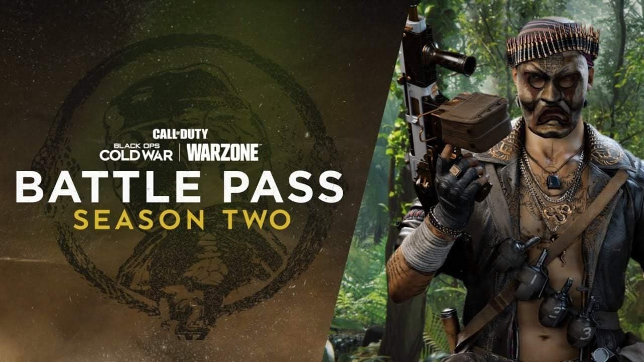 پوستری از فصل دو بازی Call of Duty: Black Ops Cold War