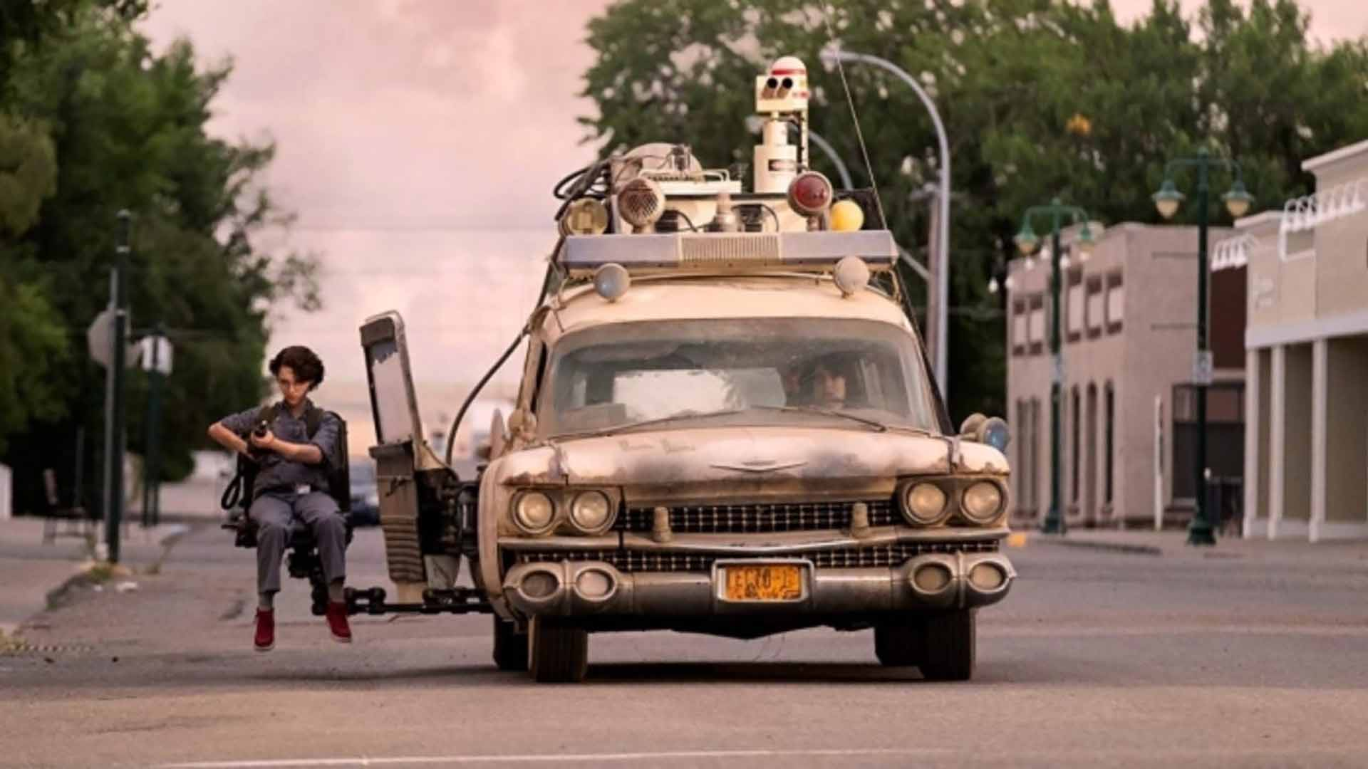 ماشین منجصر به فرد فیلم Ghostbusters Afterlaife