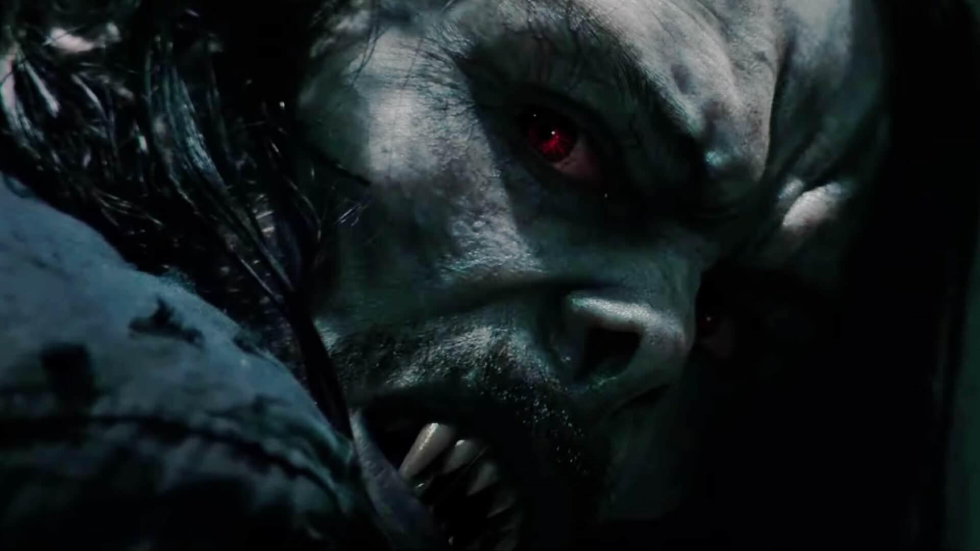 جرد لتو در نقش کاراکتر اصلی فیلم Morbius