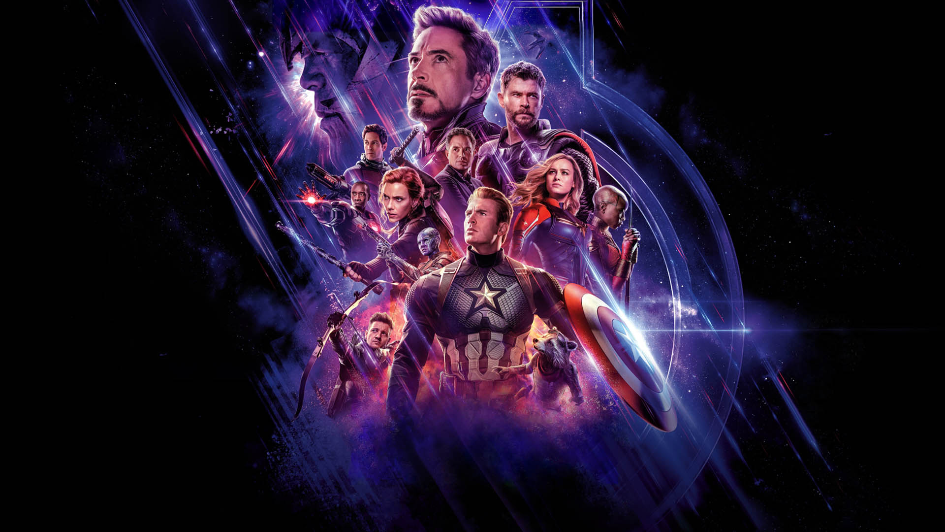کاور فیلم the avengers end game